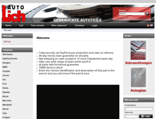 auto-lich.de screenshot