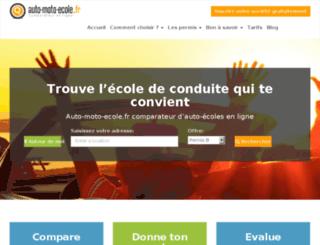 auto-moto-ecole.fr screenshot