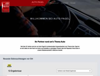 auto-pagel.de screenshot