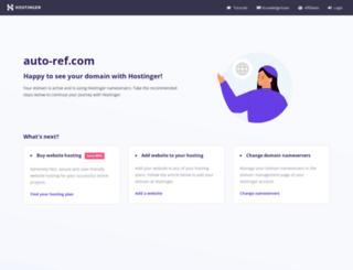 auto-ref.com screenshot