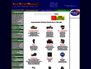 auto-repair-manuals.com screenshot