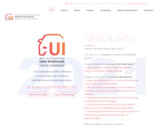 auto-ui.org screenshot