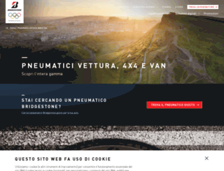 auto.bridgestone.it screenshot