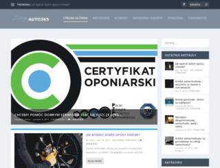 auto365.pl screenshot
