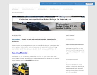 autoankauf-export.de screenshot