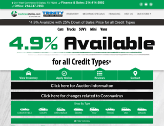 autoauctionsdallastx.com screenshot