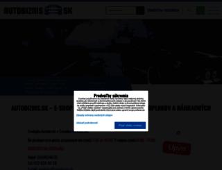 autobiznis.sk screenshot