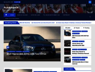 autoblopnik.com screenshot