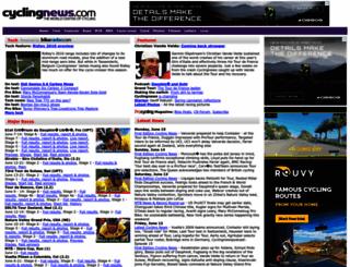 autobus.cyclingnews.com screenshot