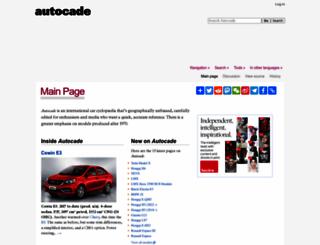 autocade.net screenshot