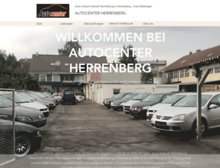 autocenter-herrenberg.de screenshot