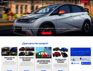 autocosmos.com.co screenshot