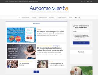autocrecimiento.com screenshot