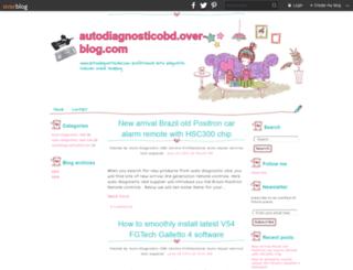 autodiagnosticobd.over-blog.com screenshot