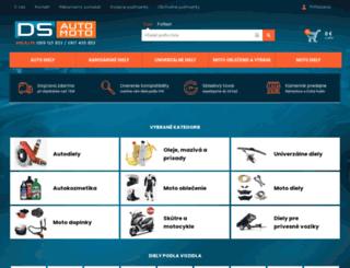autodielyds.sk screenshot