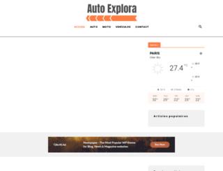 autoexplora.com screenshot