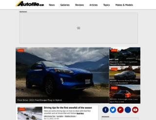 autofile.ca screenshot
