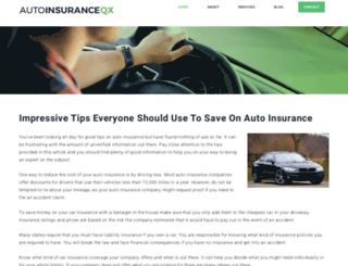 autoinsuranceqx.com screenshot