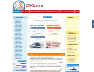 autokar24.pl screenshot