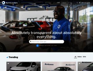autolenders.com screenshot