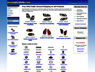 autolightsbulbs.com screenshot