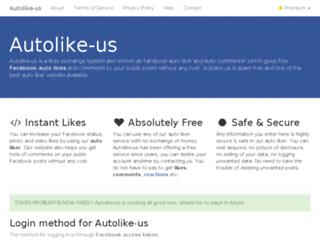 autolike us com screenshot