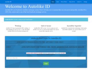 autolike.id screenshot