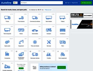 autoline-eu.ie screenshot