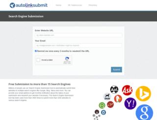 autolinksubmit.com screenshot