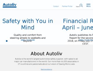 autoliv.com screenshot
