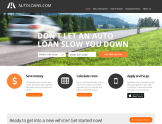 autoloans.com screenshot