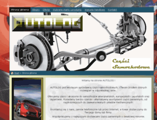 autolog.net.pl screenshot