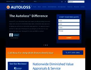autoloss.com screenshot