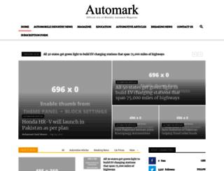 automark.pk screenshot
