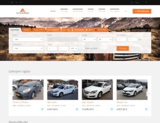 automarket.ba screenshot