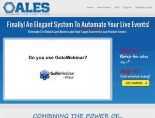 automatedliveeventsystem.com screenshot