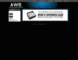 automatedwholesalingsystems.com screenshot