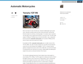 automaticmotorcycles.tumblr.com screenshot