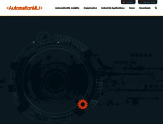 automationml.org screenshot