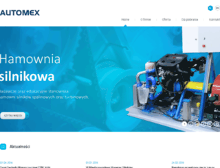 automex.pl screenshot