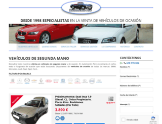 automocionpere.com screenshot
