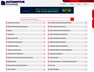 automotive-technology.com screenshot