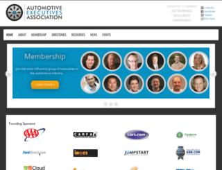 automotiveexecutives.com screenshot