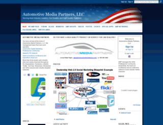 automotivemediapartners.com screenshot