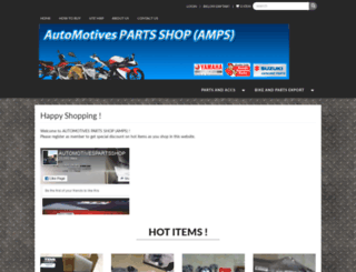 automotivespartsshop.com screenshot