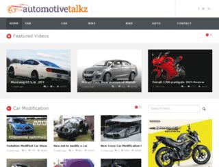 automotivetalkz.com screenshot