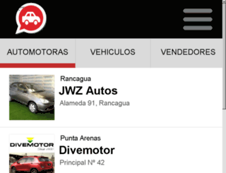 automotora.cl screenshot