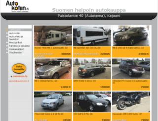 automyyntipeltokangas.com screenshot