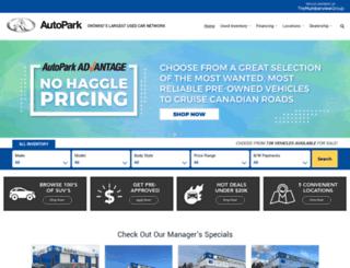 autopark.ca screenshot