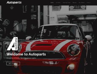 autoparts.uk.com screenshot
